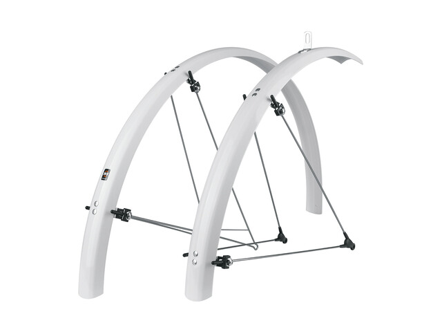 "SKS Bluemels B53 Mud Guard Set 28"" white"
